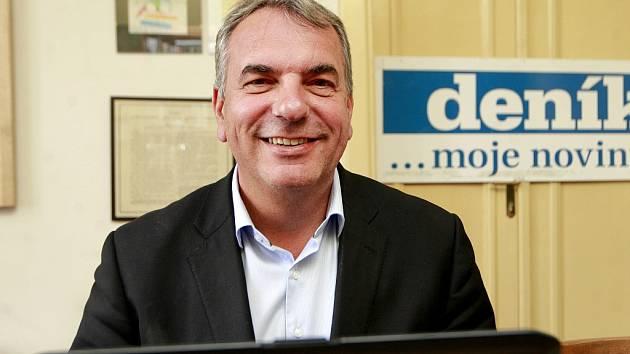 Kandidát za ČSSD z Frýdku-Místku Bc. Jiří Hájek hostem on-line rozhovoru Deníku.