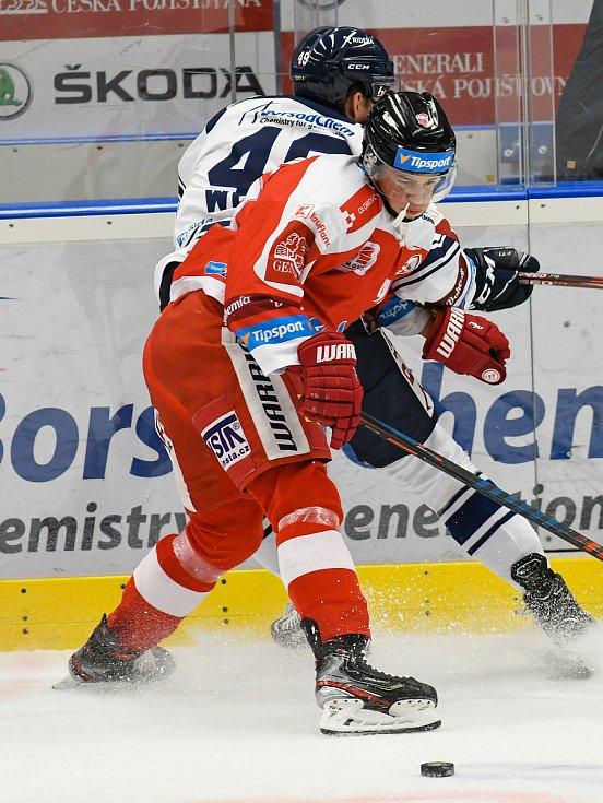 HC Vítkovice Ridera – HC Olomouc 1:2 v prodloužení, přípravný zápas v Ostravě, 10. září 2020.