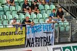 Utkání 1. kola fotbalové Fortuna ligy: MFK Karviná - FC Baník Ostrava, 23. srpna 2020 v Karviné. Fanoušci.