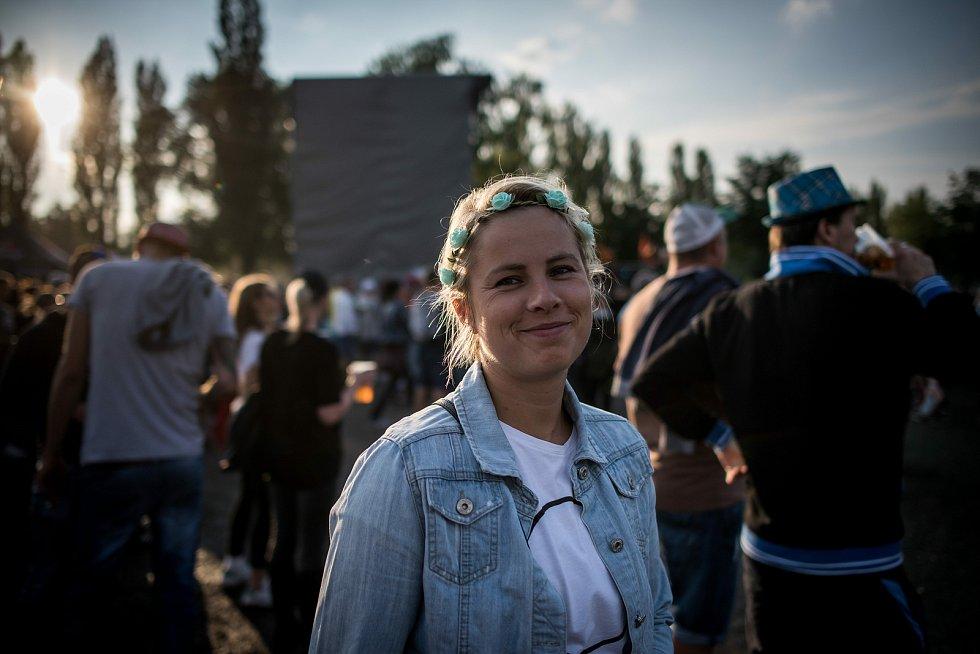 Festival elektronické hudby Beats for love v Dolní Oblasti Vítkovice, 8. července 2017.