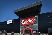 Nové nákupní centrum Géčko u Globusu v Ostravě.