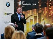 EY Podnikatel roku 2017 Moravskoslezského kraje, pondělí 22. ledna 2018. Vítězem se stala společnost Isotra.