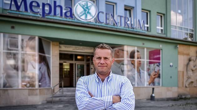 Poliklinika MephaCentrum v Ostravě-Porubě. Na snímku ředitel Pavel Hanke.