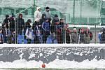 První přípravný zápas Tipsport ligy: Baník Ostrava - 1.SK Prostějov, 8. ledna 2019 v Orlové. Na snímku fanoušci Baníku Ostrava.