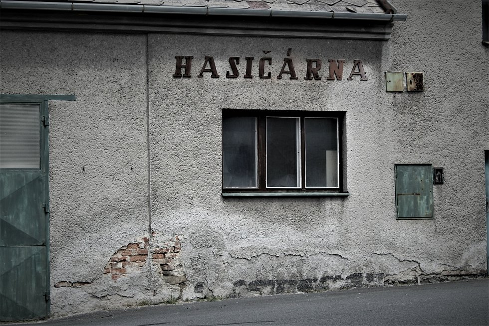 Hasičárna ve Zbyslavicích.