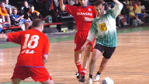 Olašští Romové pořádali v Ostravě fotbalový turnaj