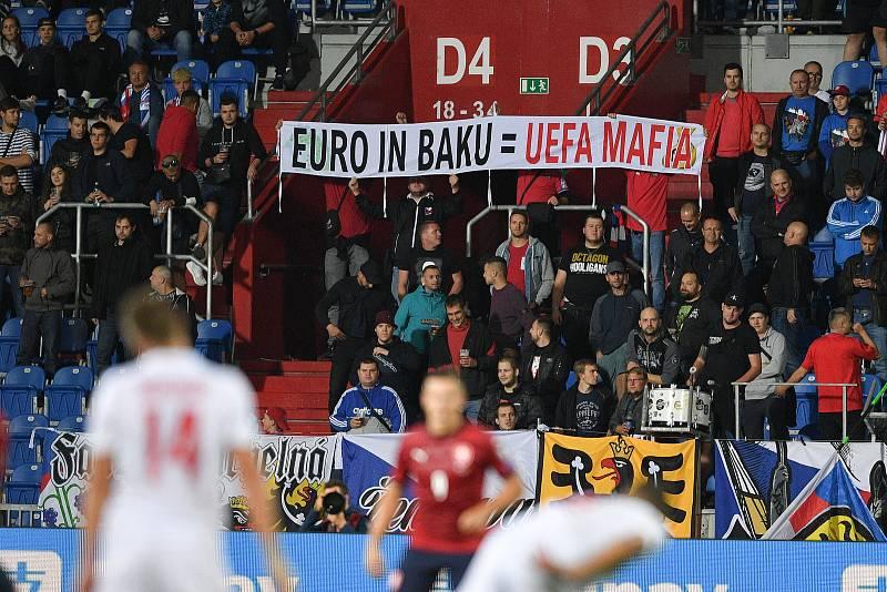 Utkání skupiny E kvalifikace mistrovství světa ve fotbale: Česko - Bělorusko, 2. září 2021 V Ostravě.