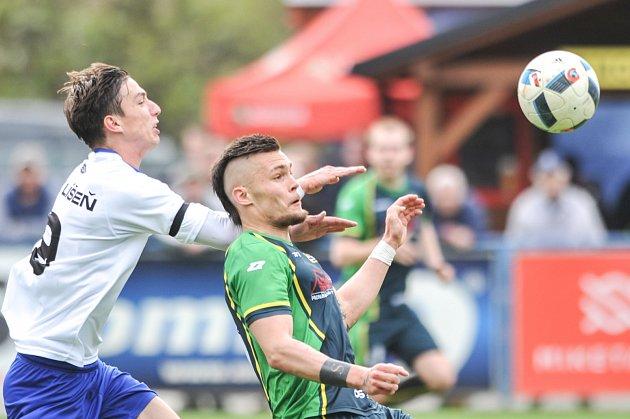 Utkání 20. kola Fortuna MSFL: FC Odra Petřkovice vs. SK Líšeň