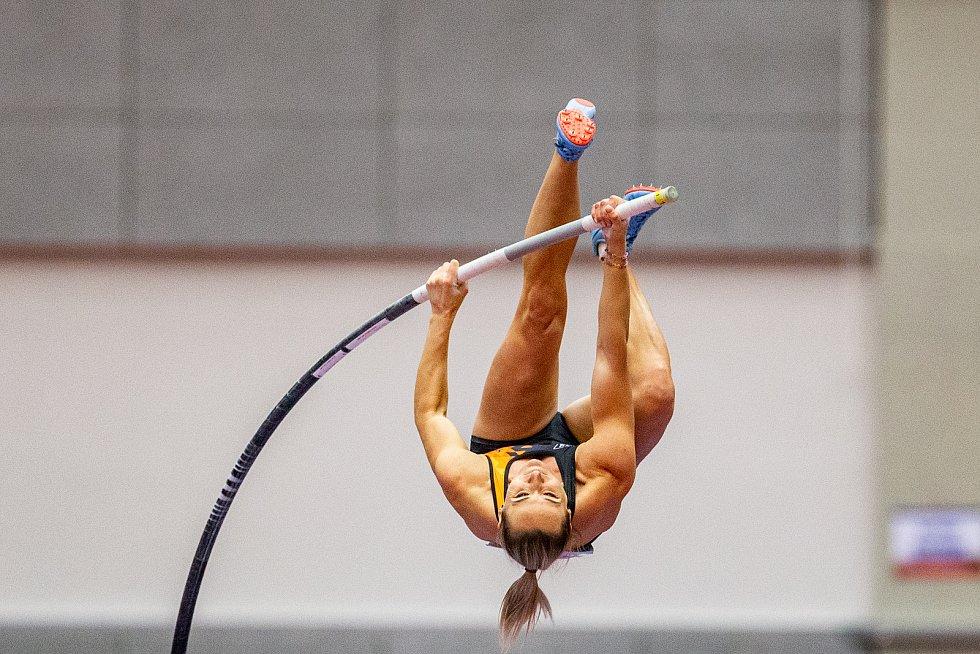 Halové mistrovství ČR mužů a žen v atletice, 23. února 2020 v Ostravě. Romana Maláčová (Univerzitní sportovní klub Praha).