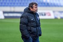 Trenér Vítkovic Ludevít Grmela.
