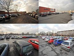Záchytných parkovišť na území Ostravy ubývá