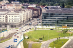 Stavební pozemek v centru Ostravy ve tvaru slzy má rozlohu téměř 8 300 m2.