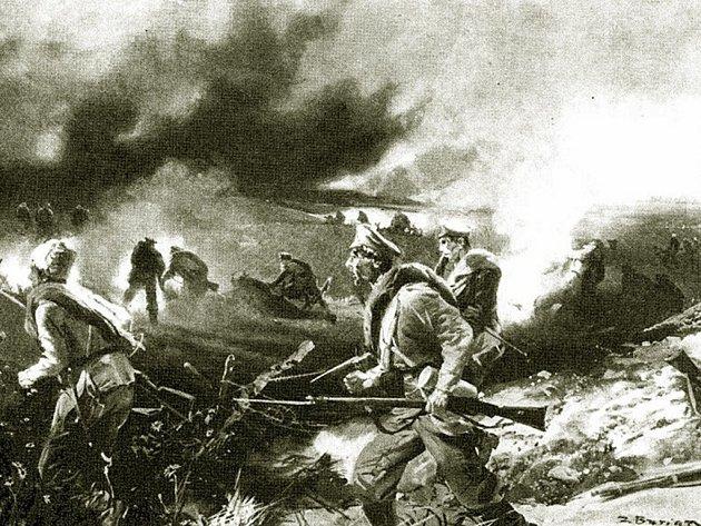 Kopřivnický rodák Zdeněk Burian, legionář a geniální malíř, zachytil v mnoha kresbách a obrazech slavnou bitvu u Zborova, kde v roce 1917 českoslovenští legionáři tak slavně zvítězili.