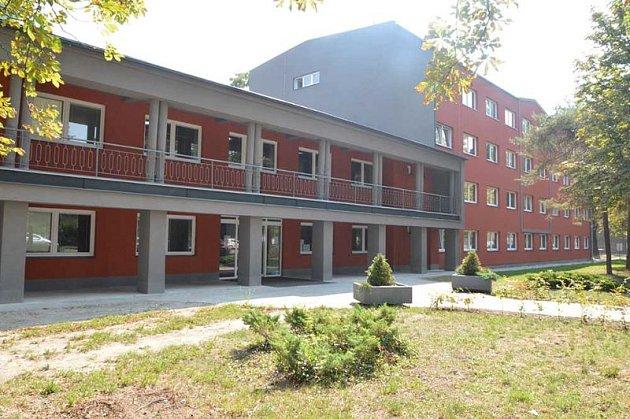 Budova zdravotní školy vOstravě na ul. 1.máje 11