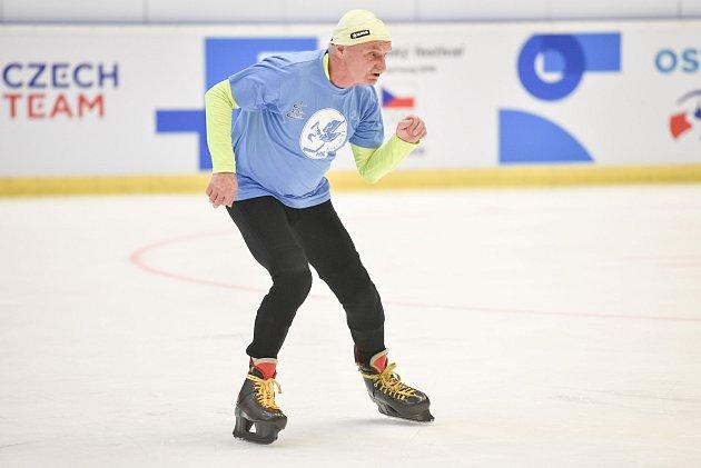Karel Ligocki na Olympijském festivalu v Ostravě