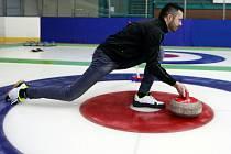 Curling v Ostravě.