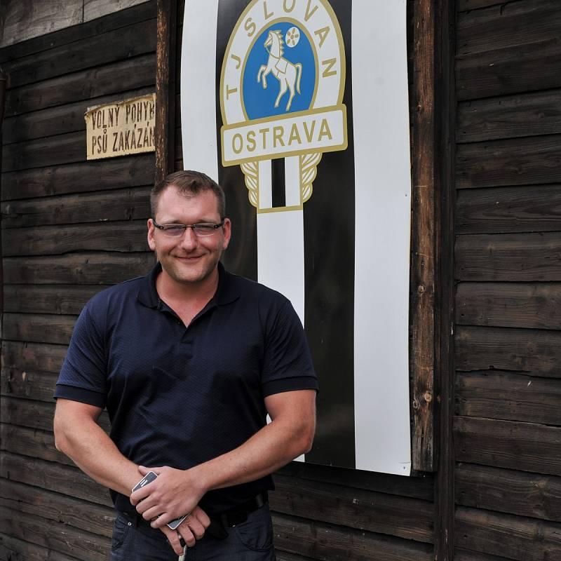 Petr Konečný je nový předseda TJ Slovan Ostrava s velkými plány. Rád by do dvou let z chátrajícího areálu v Hulvákách udělal moderní sportoviště.