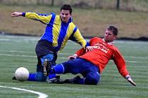 Fotbalisté Staré Bělé postupují zimním turnajem ve Vřesině bez ztráty bodu. Jako jediný tým zatím vše vyhráli, v sobotu 7. února si po boji poradili s domácí Vřesinou, kterou porazili  3:2.