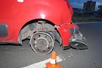 Opilý řidič zničil auto.