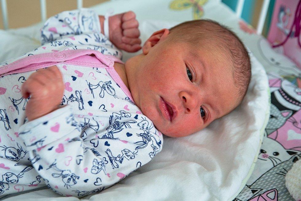 Elena Onderková z Orlové, narozena 23. dubna 2021 v Karviné. Foto: Marek Běhan