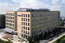 Viuzualizace administrativní budovy Nordica Ostrava, kterou v centru Ostravy vybuduje firma Skanska Property CR