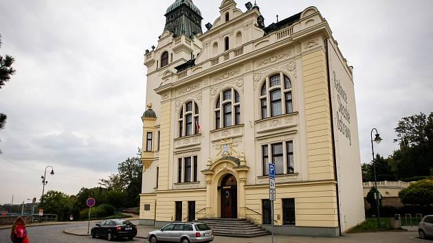 Radnice Slezské Ostravy.