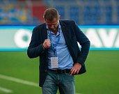 I. liga, 4. kolo, FC Baník - FK Teplice: 3 : 3, na snímku trenér baníku Radim Kučera