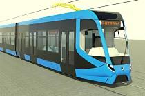 První vizualizace napovídají, jak by nové tramvaje mohly vypadat. Podoba se ale zřejmě ještě změní. Ostrava se díky nim stane dopravcem s nejmladším tramvajovým parkem v zemi.