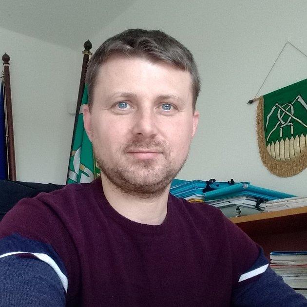David Harok, starosta obce Chotěbuz