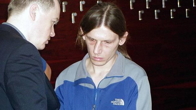 Eduard Sýkora (na snímku vpravo) u ostravského okresního soudu