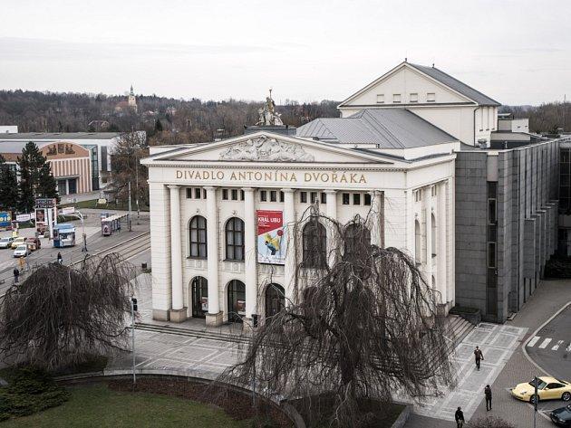 Divadlo Antonína Dvořáka vOstravě. Ilustrační foto.