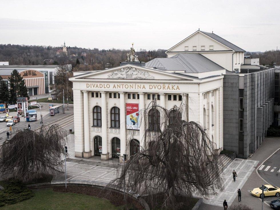 Divadlo Antonína Dvořáka v Ostravě. Ilustrační foto.