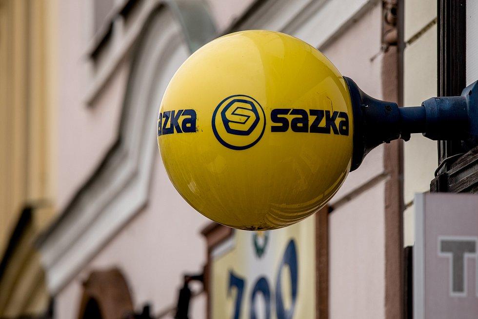 Logo společnosti Sazka. Ilustrační foto.