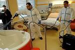 Čištění pomocí nanotechnologií v nemocničním prostředí. Ilustrační foto.