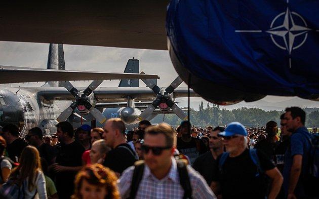 Dny NATO 2018na letišti vMošnově.