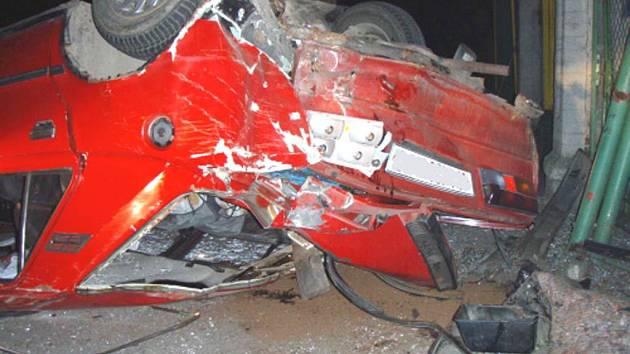 Nehoda v Karviné-Doubravě