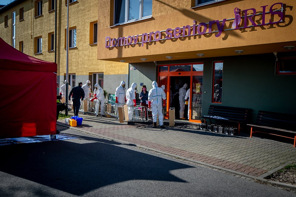 V domově pro seniory Iris v Ostravě se objevil koronavirus.