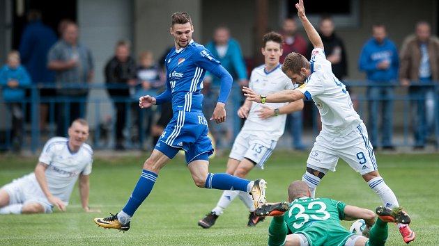 Fotbal, příprava: Baník Ostrava - Ružomberok , 23. června 2018 v Bolaticích.