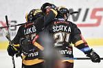 Utkání 52. kola hokejové extraligy: HC Vítkovice Ridera - HC Verva Litvínov, 8. března 2019 v Ostravě. Na snímku radost Litvínova.