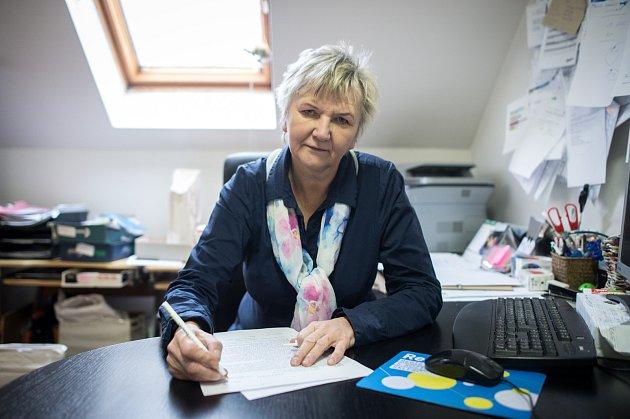 Předsedkyně Rosky Ostrava a koordinátor MS Centra Naděžda Nováková.