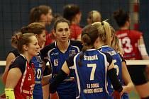 Extraliga volejbalistek - 11. kolo:  TJ Ostrava - Sokol NIBE Frýdek-Místek 3:0 (20, 17, 11)