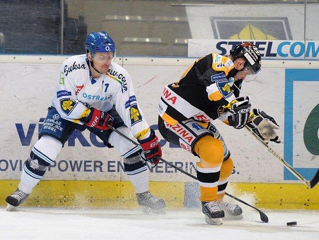 Hokejisté Vítkovic v pátek nezaváhali a porazili Litvínov.