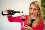 Degustace vína na Slezskoostravském hradě.