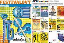 Ilustrační obrázek stran festivalového speciálu.