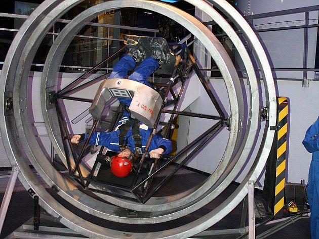 Veronika Foldynová z Píště absolvovala výcvik v Euro Space centru.