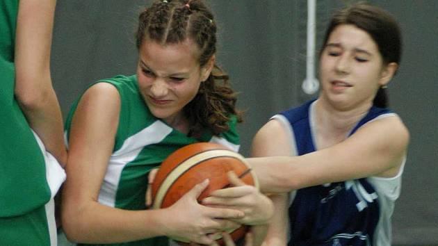 Basketbalistky SBŠ Ostrava.