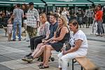 Táta Fest 2020 na Masarykově náměstí, 6. srpna 2020 v Ostravě.