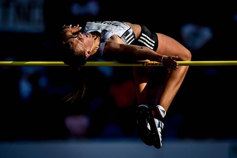 Zlatá tretra, atletický mítink IAAF World Challenge, 20. června 2019 v Ostravě. Na snímku Karina Taranda.