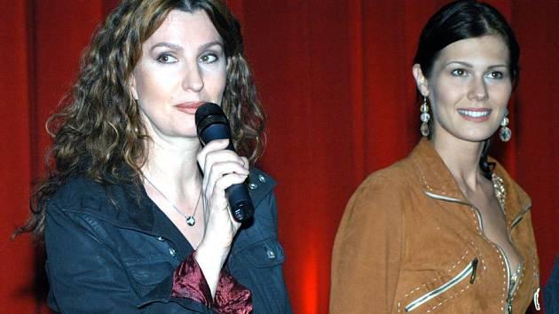 Irena Pavlásková (vlevo) a Jana Doležalováf