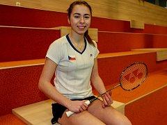 NADĚJE PRO TOKIO. Ke žhavým kandidátům na místo v české výpravě pro LOH 2020 bude patřit také nástupkyně Kristíny Gavnholt na badmintonovém trůnu Tereza Švábíková.